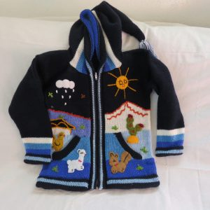 Vestes péruviennes enfants